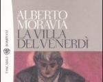 Alberto Moravia, Il vassoio davanti alla porta (da La villa del venerdì), 1990